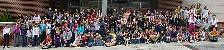 Cougar String Camp Group Photo