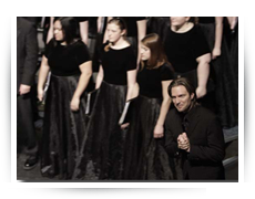WSU Concert Choir with Eric Whitacre