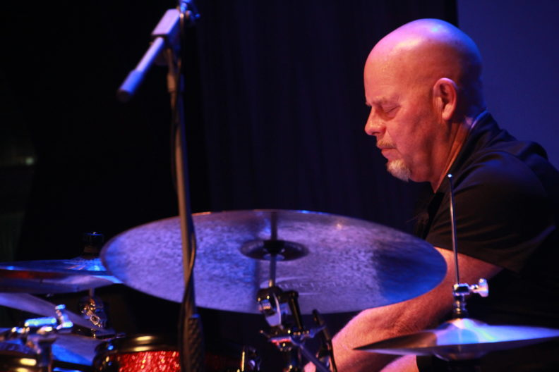 Gary Hobbs on drums