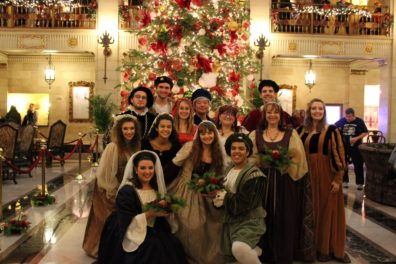 WSU Madrigal Singers Photo