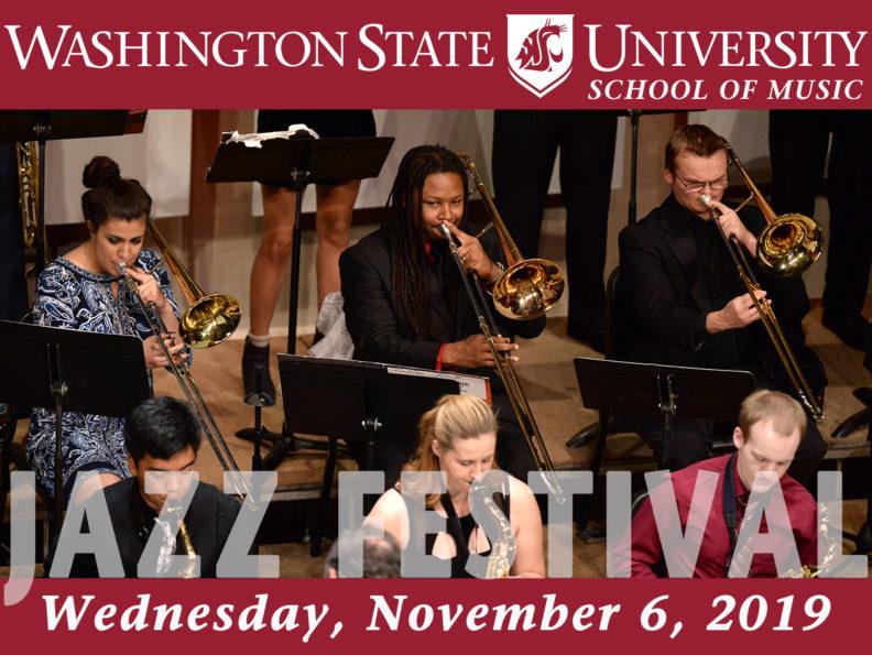 Jazz Festival   School of Music   Washington State University