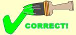 Green Checkmark - Correct!