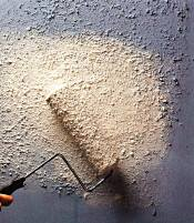Textured paints and coatings can contain asbestos