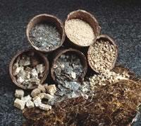 Variations in vermiculite