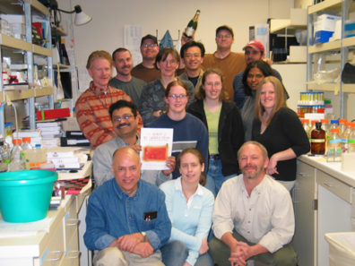 Skinner Lab Group Photo - Spring 2005