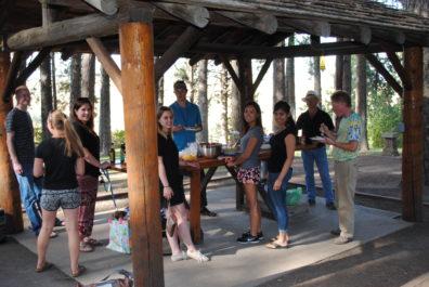 Skinner Lab Potluck - July 2015 - Kamiak Butte, WA