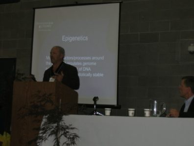 Dr. Skinner Speaking at the NW Children's Environmental Health Forum. October 2009.