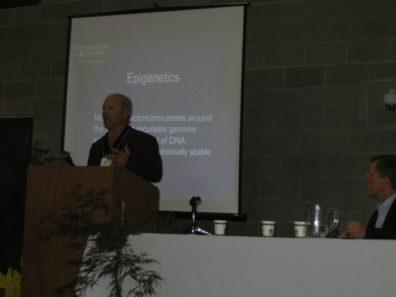 Dr. Skinner Speaking at the NW Children's Environmental Health Forum. October 2009.