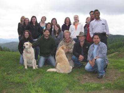 Skinner Lab Retreat - June 2011 - Palouse Divide, Idaho