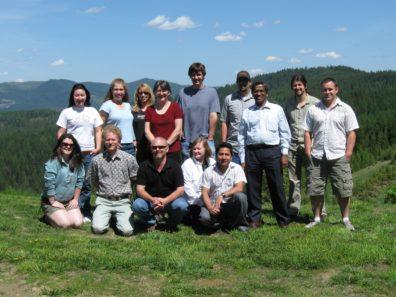 Skinner Lab Retreat - May 2009 - Palouse Divide, Idaho