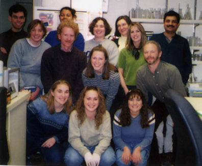 Skinner Lab Group Photo - Spring 2002