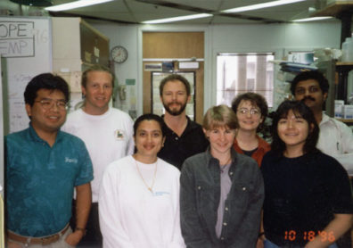 Skinner Lab Group Photo - 1996