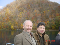 Dr. Skinner and past Fellow Naoki Itoh in Sapporo, Japan, 2005