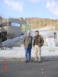 Dr. Skinner and Naoki Itoh in Japan, 2005.