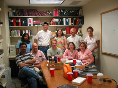 Skinner Lab Group Photo - Spring 2004