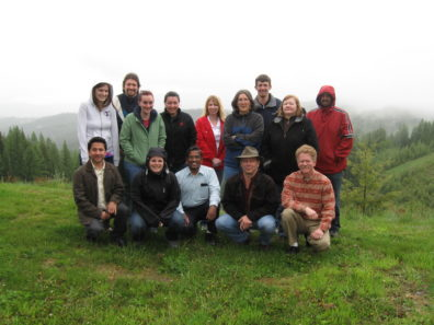 Skinner Lab Retreat - June 2010 - Palouse Divide, Idaho