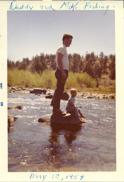 Fishing with my Dad - May 1959