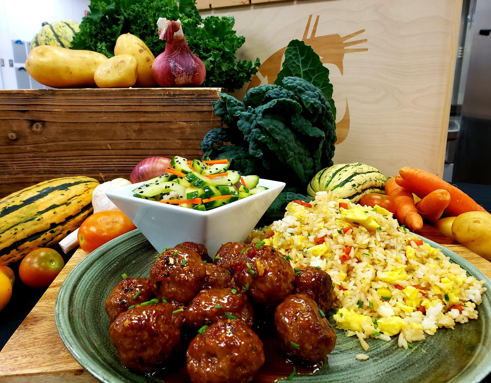 Thai Meatball Mealkit