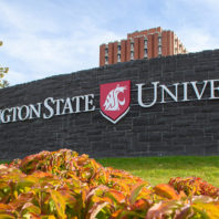 Photo of Washington State University Sign