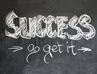 Success. Go get it.