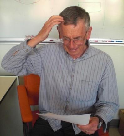 Tom thinking