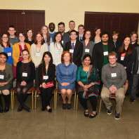 Graduate student scholarship recipients for 2016