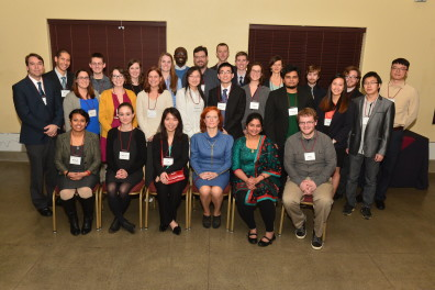 Graduate student scholarship recipients for 2016, Evening of Excellence
