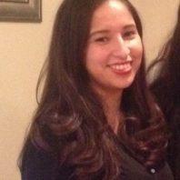Graduate student Marisa Cervantes