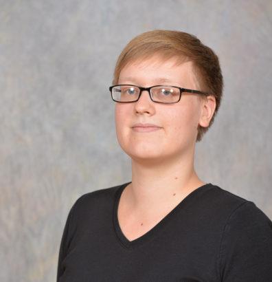 Graduate student Ruth Williams