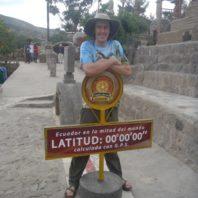 graduate student in Ecuador