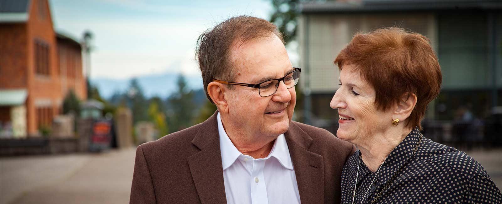 Fritz and Julie Clarke