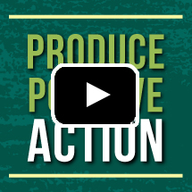 produce positive action graphic