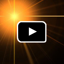 bright high-contrast yellow star in background, play button in foreground.