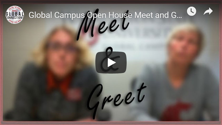 Screenshot: Global Campus Meet and Greet video.