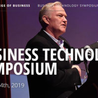 Graphic: Business Technology Symposium.