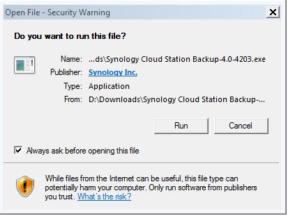 Setup My Cloud Station Backup   CAHNRS IT   Washington State