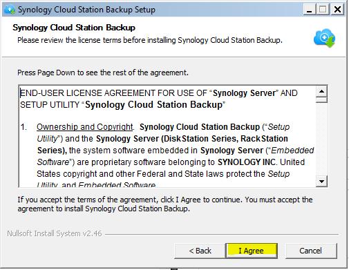 Setup My Cloud Station Backup | CAHNRS IT | Washington State