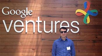 Marketing major Thomas Weis tours Google Ventures
