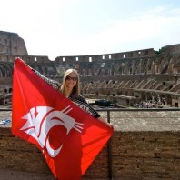 Food and Wine of Italy: Cougar Pride! Photo submitted by Lauren Houk.