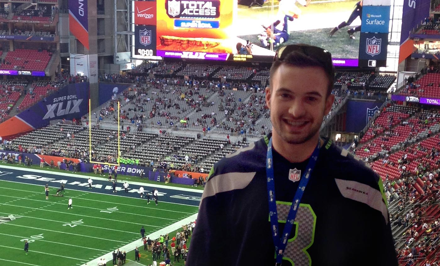 JT at the Super Bowl