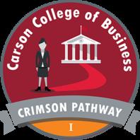 Crimson Pathway 1 Badge