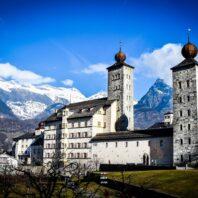 Stockalper Palace in Brig Switzerland