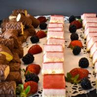 Food arrangement at the Cesar Ritz in Switzerland