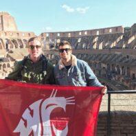Cougar Pride in the Colosseum