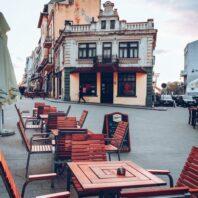 Streets of Constanta, Romania