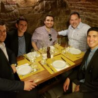 Faculty Dinner With Chef Jamie Callison in Italy