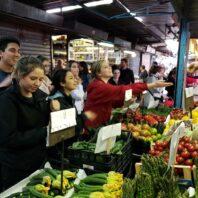 Market Shopping in Italy
