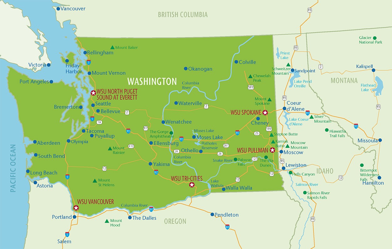 Travel Guide | Admissions | Washington State University