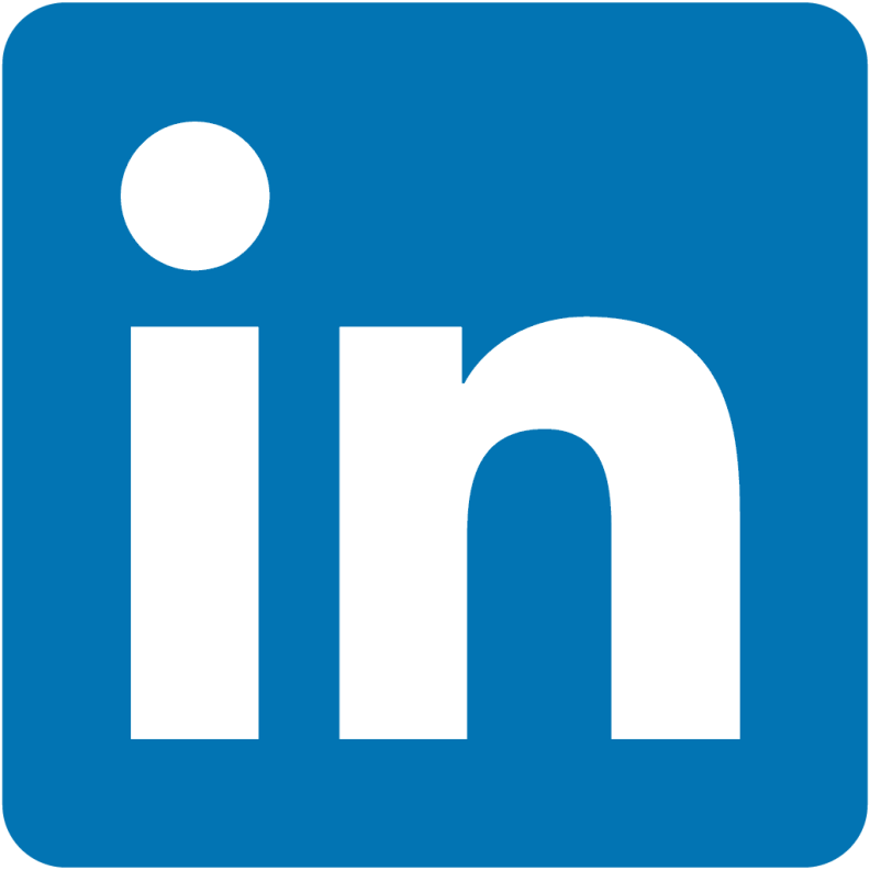 Logo for LinkedIn.