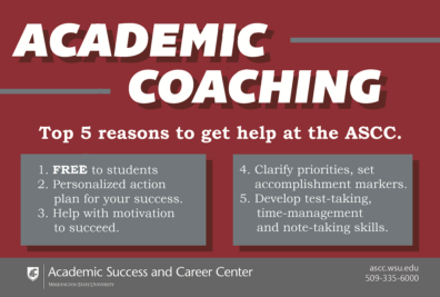 Academic Coaching Post Card Image